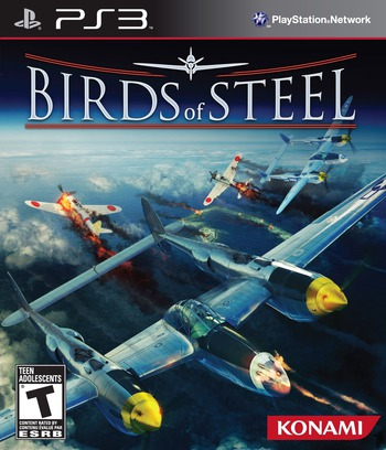 Birds of Steel PS3 coverM (BLUS30831)