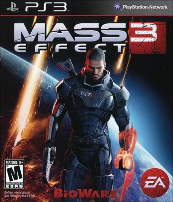 Mass Effect 3 PS3 coverM (BLUS30853)