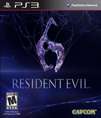 Resident Evil 6 PS3 coverM (BLUS30855)