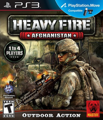 Heavy Fire: Afghanistan PS3 coverM (BLUS30856)