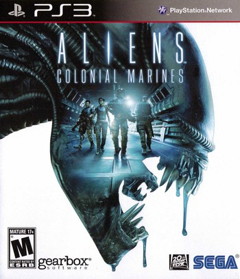 Aliens: Colonial Marines PS3 coverM (BLUS30862)