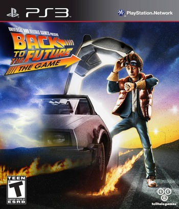 Back to the Future: The Game PS3 coverM (BLUS30886)