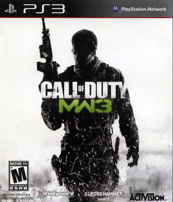 Call of Duty : Modern Warfare 3 PS3 coverM (BLUS30887)