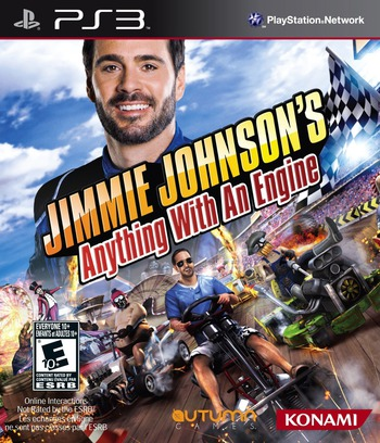 Jimmie Johnson's Anything With an Engine Array coverM (BLUS30897)