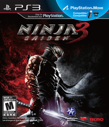 Ninja Gaiden 3 PS3 coverM (BLUS30916)