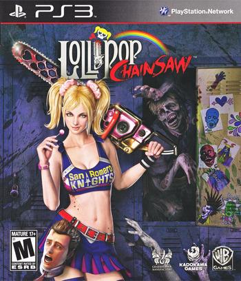 Lollipop Chainsaw PS3 coverM (BLUS30917)