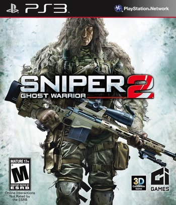 Sniper: Ghost Warrior 2 PS3 coverM (BLUS30919)