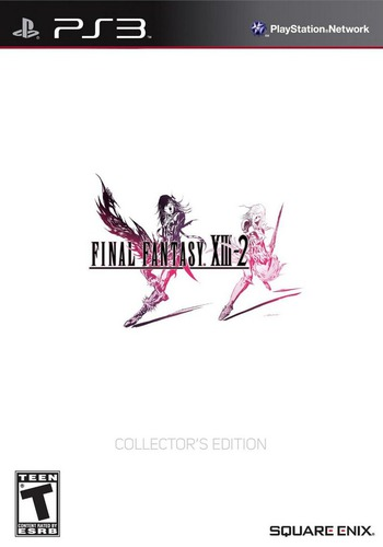 Final Fantasy XIII-2 (Limited Collector's Edition) PS3 coverM (BLUS30925)