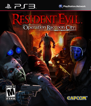 Resident Evil: Operation Raccoon City PS3 coverM (BLUS30929)