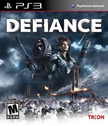 Defiance PS3 coverM (BLUS30936)