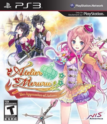 Atelier Meruru: The Apprentice of Arland PS3 coverM (BLUS30941)