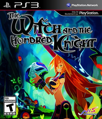 The Witch and the Hundred Knight PS3 coverM (BLUS30964)