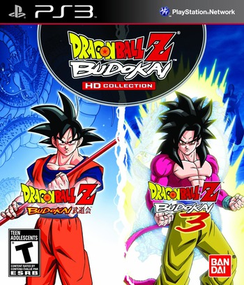 Dragon Ball Z Budokai HD Collection PS3 coverM (BLUS30966)