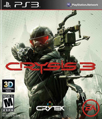 Crysis 3 PS3 coverM (BLUS30976)
