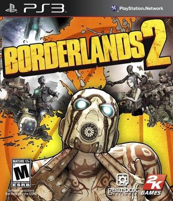 Borderlands 2 PS3 coverM (BLUS30982)