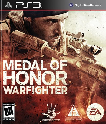 Medal of Honor: Warfighter PS3 coverM (BLUS30990)