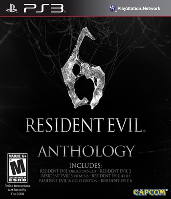 Resident Evil 6 Anthology PS3 coverM (BLUS31005)