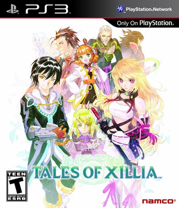 Tales of Xillia PS3 coverM (BLUS31006)