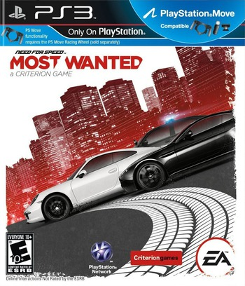 Need for Speed: Most Wanted PS3 coverM (BLUS31010)