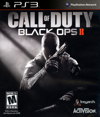 Call of Duty: Black Ops II PS3 coverM (BLUS31011)