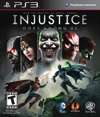 Injustice: Gods Among Us PS3 coverM (BLUS31018)