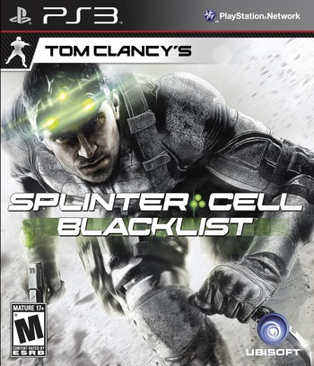 Tom Clancy's Splinter Cell: Blacklist PS3 coverM (BLUS31025)
