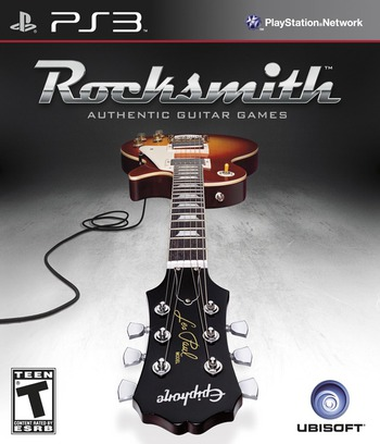 Rocksmith PS3 coverM (BLUS31031)