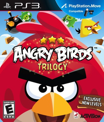 Angry Birds Trilogy PS3 coverM (BLUS31054)