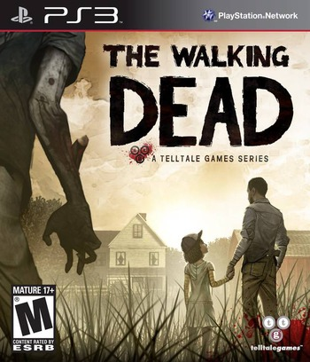 The Walking Dead: A Telltale Games Series PS3 coverM (BLUS31144)