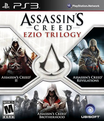 Assassin's Creed: Ezio Trilogy PS3 coverM (BLUS31145)