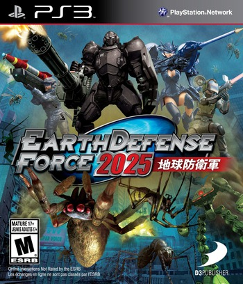 Earth Defense Force 2025 PS3 coverM (BLUS31160)