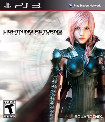 Lightning Returns: Final Fantasy XIII PS3 coverM (BLUS31164)
