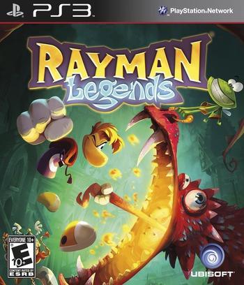Rayman Legends PS3 coverM (BLUS31183)