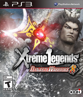 Dynasty Warriors 8: Xtreme Legends PS3 coverM (BLUS31185)
