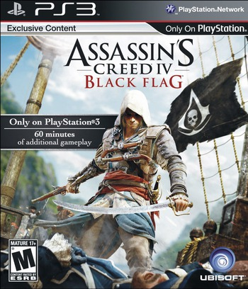 Assassin's Creed IV: Black Flag PS3 coverM (BLUS31193)