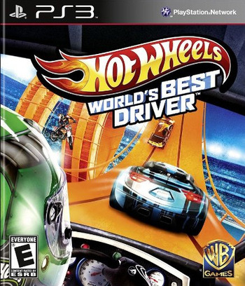 Hot Wheels: World's Best Driver PS3 coverM (BLUS31200)