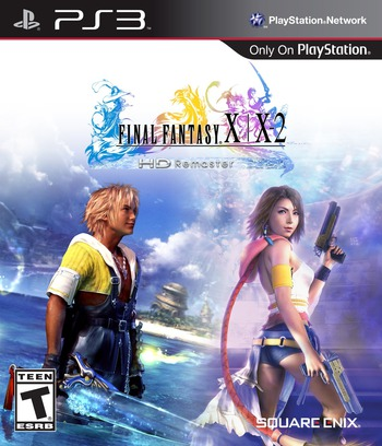 Final Fantasy X / X-2 HD Remaster PS3 coverM (BLUS31211)