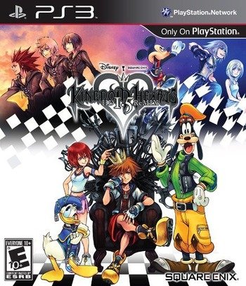 Kingdom Hearts HD 1.5 ReMIX PS3 coverM (BLUS31212)