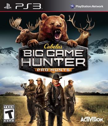 Cabela's Big Game Hunter: Pro Hunts PS3 coverM (BLUS31274)