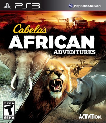 Cabela's African Adventures PS3 coverM (BLUS31275)