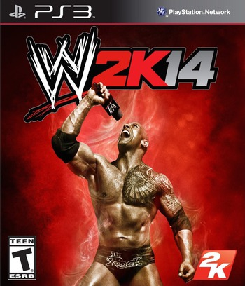 WWE 2K14 PS3 coverM (BLUS31277)