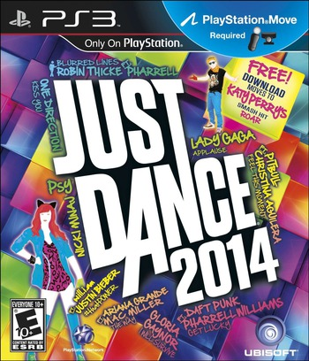 Just Dance 2014 PS3 coverM (BLUS31315)