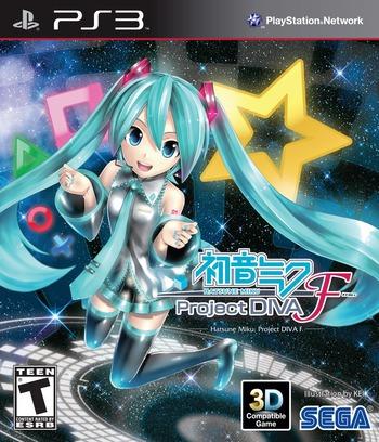 Hatsune Miku: Project Diva F PS3 coverM (BLUS31319)