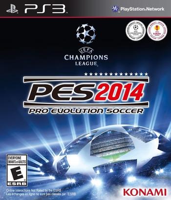 Pro Evolution Soccer 2014 PS3 coverM (BLUS31322)