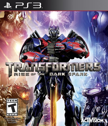 Transformers: Rise of the Dark Spark PS3 coverM (BLUS31324)