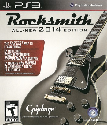 Rocksmith 2014 Edition PS3 coverM (BLUS31354)