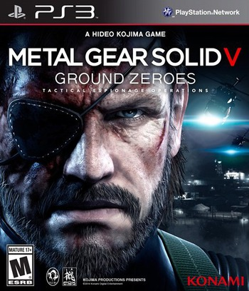 Metal Gear Solid V: Ground Zeroes PS3 coverM (BLUS31369)