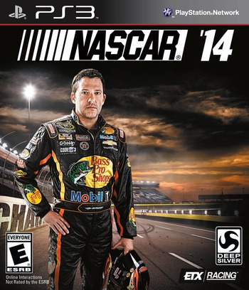 NASCAR '14 PS3 coverM (BLUS31378)