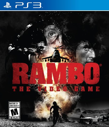 Rambo: The Video Game PS3 coverM (BLUS31387)
