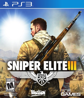 Sniper Elite III PS3 coverM (BLUS31401)